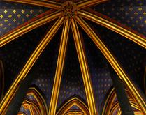 The Beautiful Ceiling of Saint Chapelle -- 2
