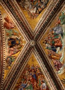 Detail from the Ceiling of the Orvieto Duomo
