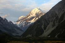Close-up of Mount Cook